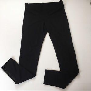 CAbi Ponte Riding Knit Pants W/ Zip Ankles